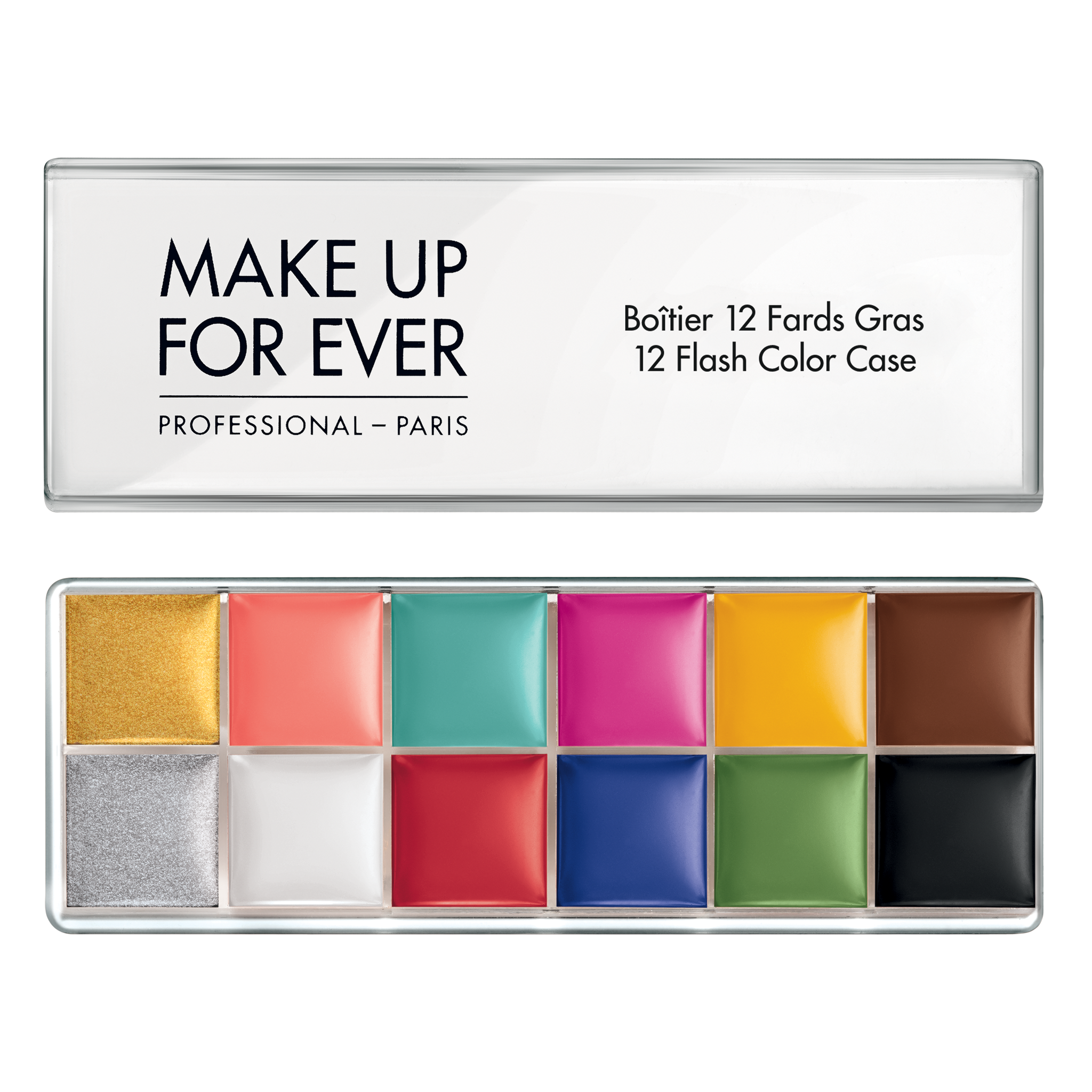 12 Flash Color Case Flash Colors MAKE UP FOR EVER