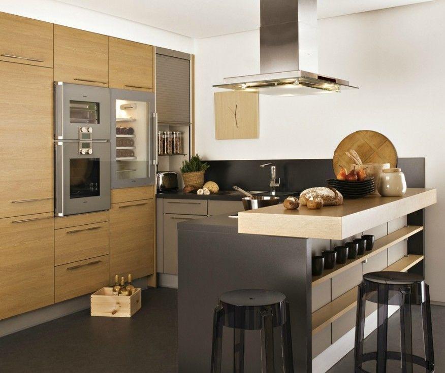 Image result for multi level kitchen counters kitchen for Cuisine en u
