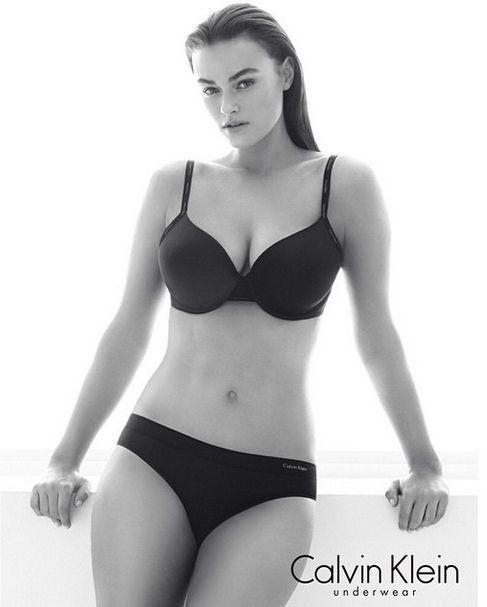 Polémique autour du mannequin taille 40 de Calvin Klein - Journal des Femmes  Mode 4718c409c89