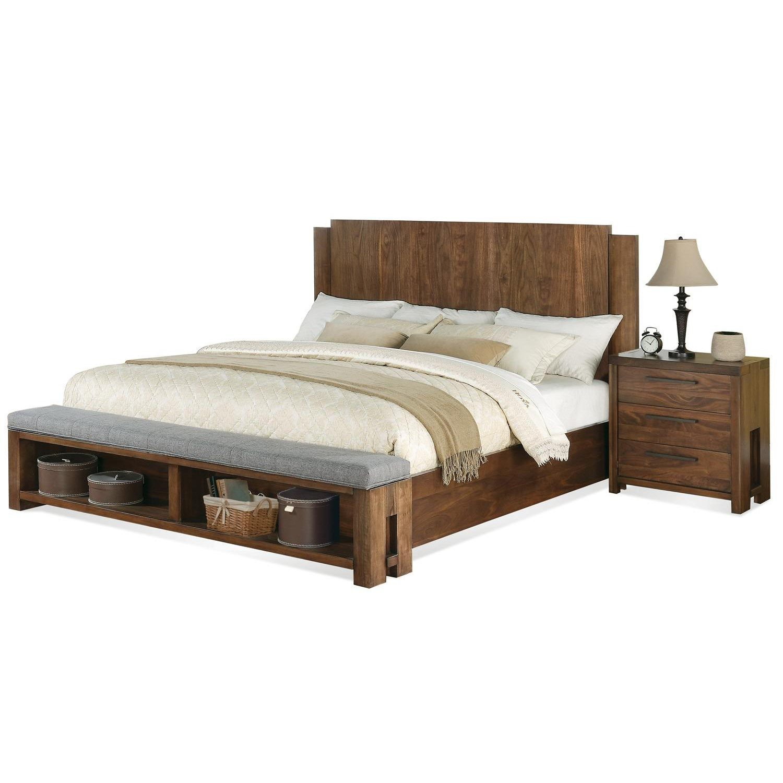 Riverside 988809888198872 Terra Vista King Panel Bed