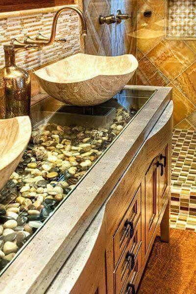 Doğal Banyo Dekorasyonu için 11 İlhamveren Fikir