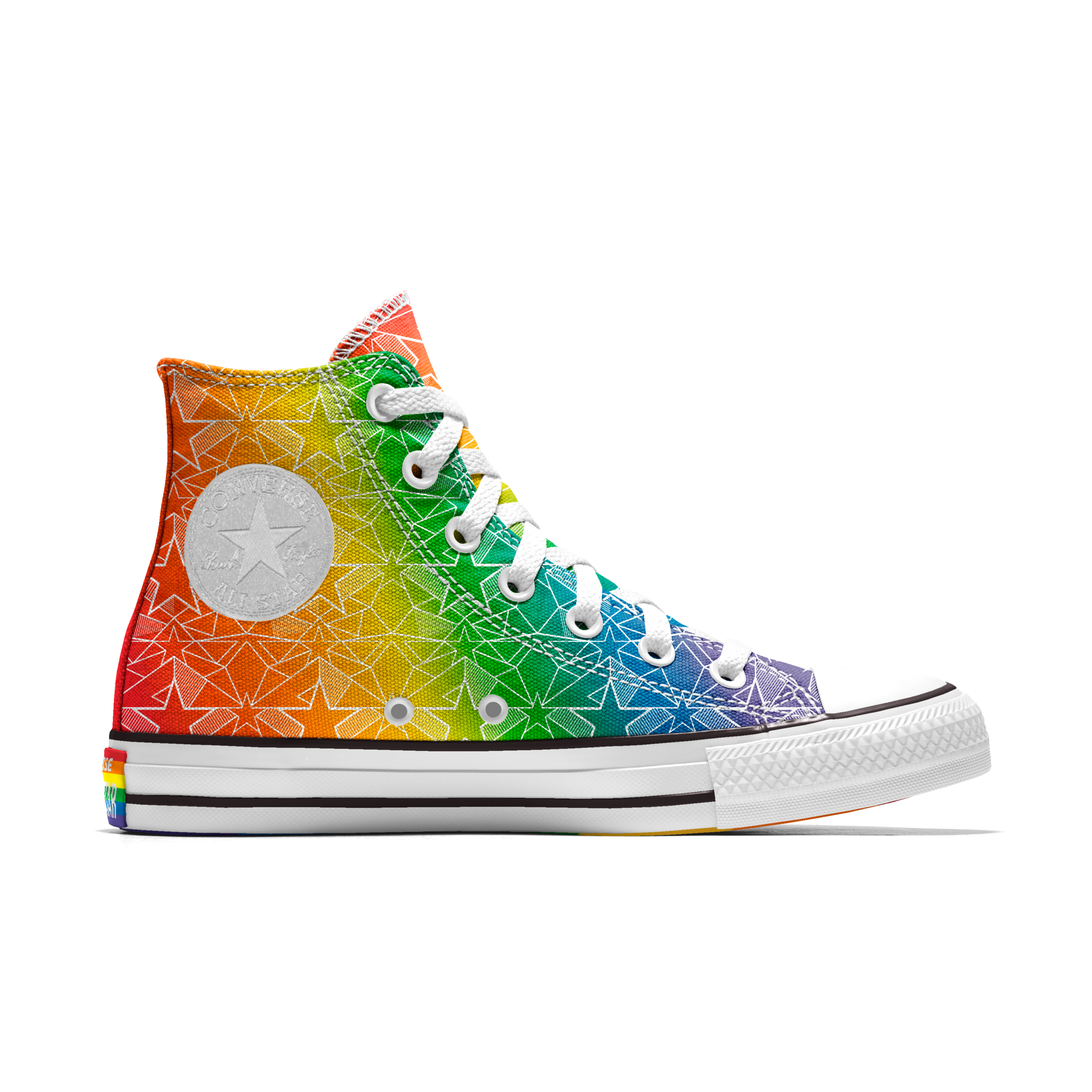 Custom Chuck Taylor All Star Pride High Top
