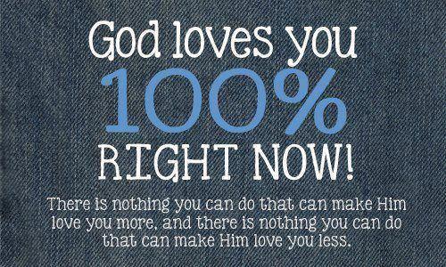 God loves u
