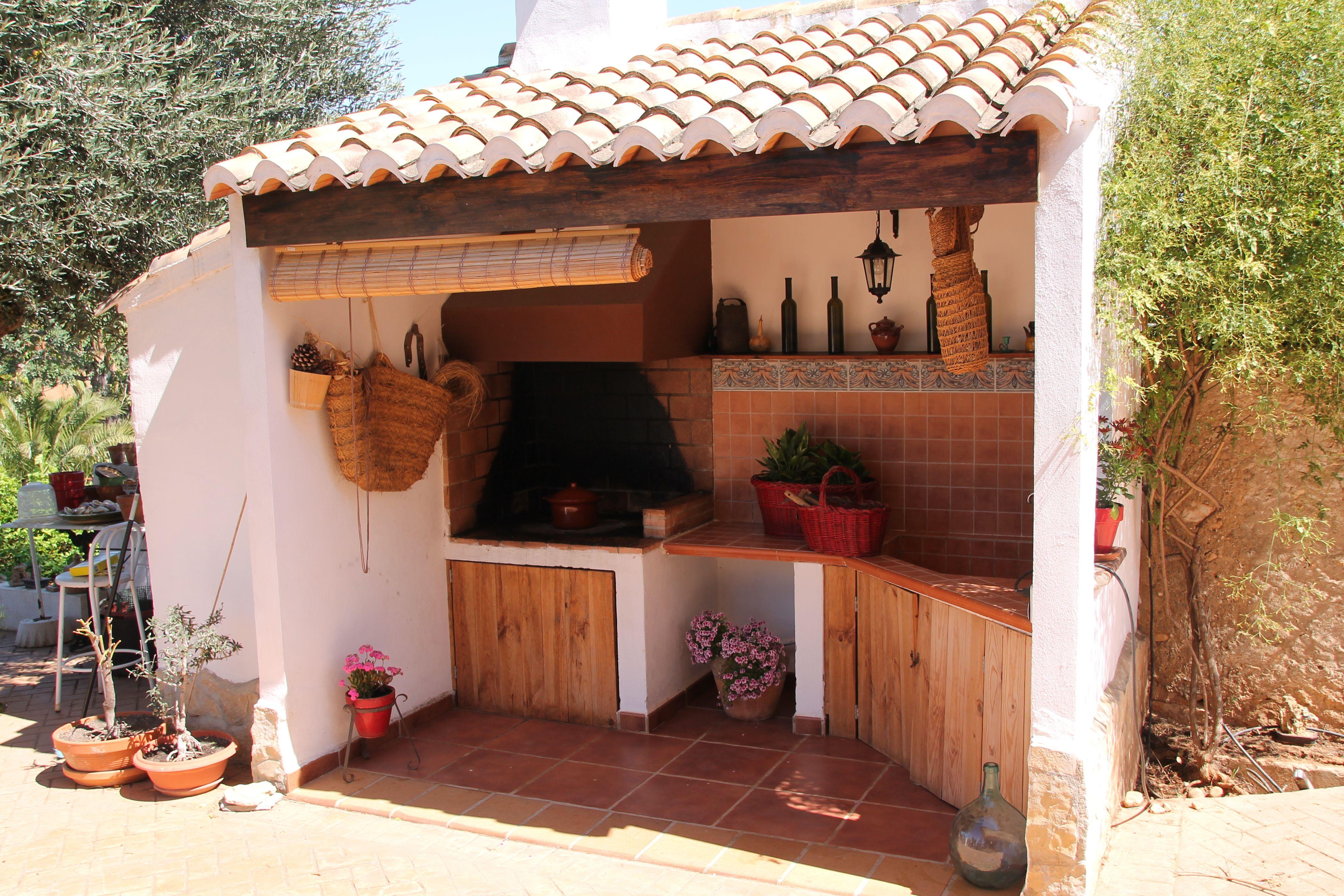 Paellero valenciano ideal para hacer paellas y para for Fogones rusticos en ladrillo