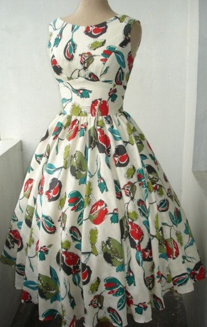Vintage 50s Style Dress Dress Inspiration Actually Just