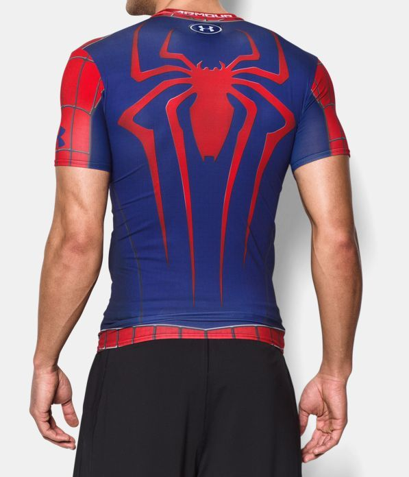 cálmese Templado Oeste  Men's Under Armour® Alter Ego Spider-Man Compression Shirt, Red, Back |  Compression shirt, Cool shirts, Shirts