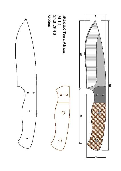 s_trider_dw.dwg - OneDrive | Blade Templates | Pinterest | Knives ...