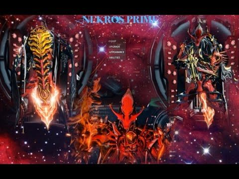 Warframe {Nekros Prime} THE KING OF THE DEAD Pc Gameplay