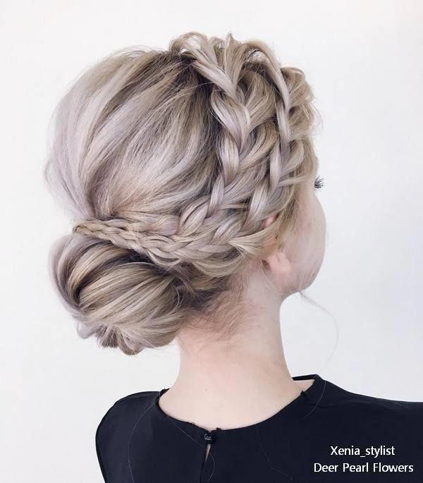 Elegant Updo Wedding Hairstyles Spring 2015: 25 Elegant Wedding Hairstyles And Updos From Xenia_stylist