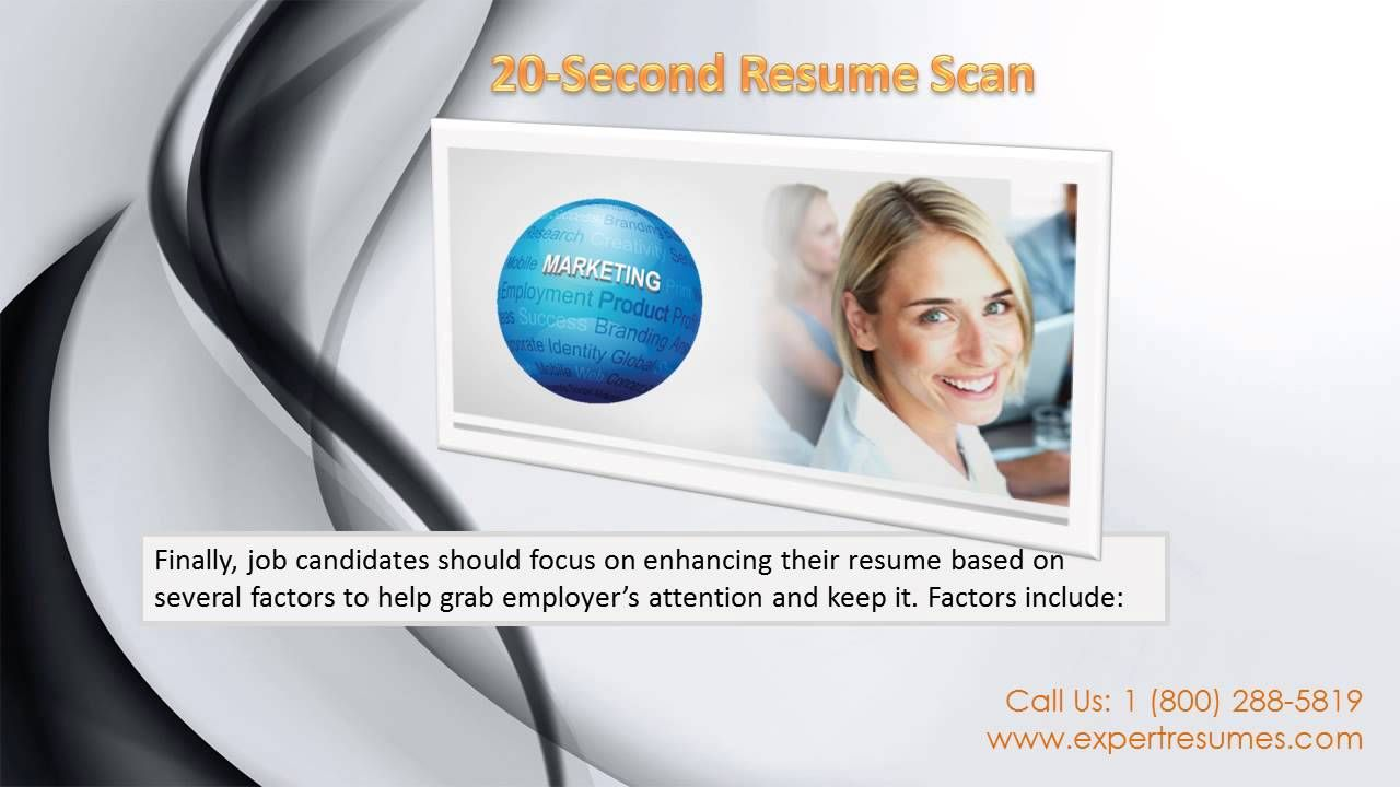 20 Second Resume Scan Resume, Resume writer, Scan