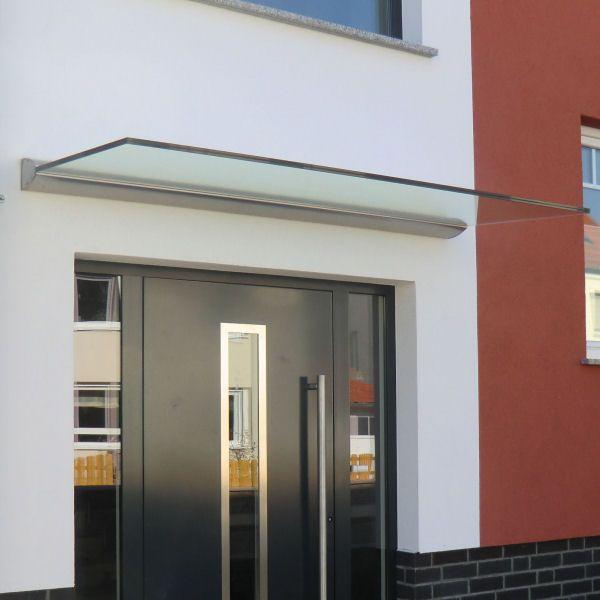 freitragendes glas vordach dura plus mit dachneigung haust ren pinterest canopy. Black Bedroom Furniture Sets. Home Design Ideas