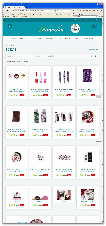 Tienda online en España de Regalos de Bodas, Bautizos y Comuniones.