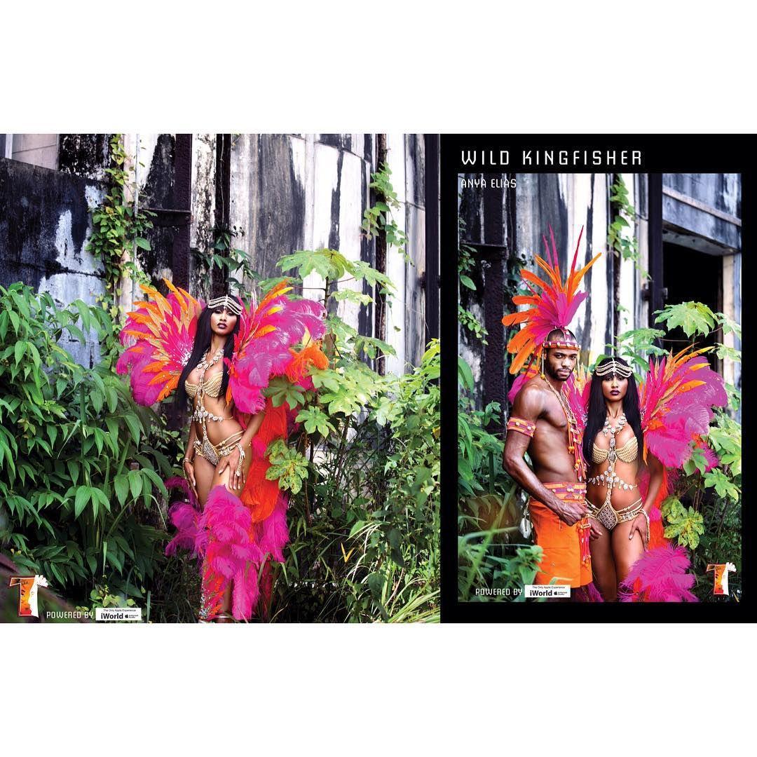 Wild KingFisher - designed by Anya Elias #TRIBE #TheForbidden #TheLaunch #BandLaunch #PoweredByNCC