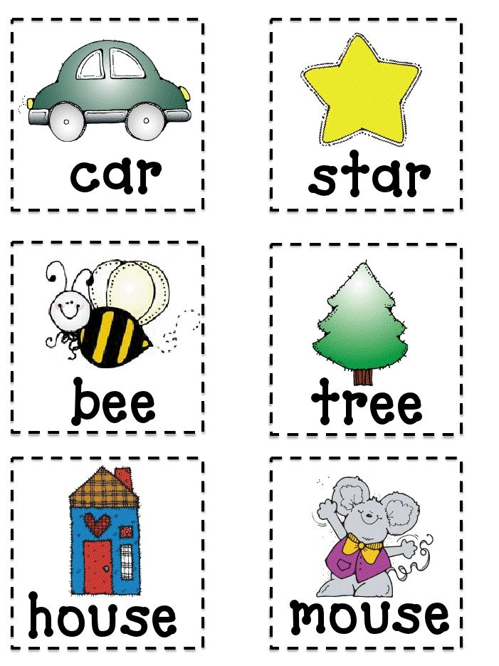 photograph about Printable Rhyming Cards named Rhyming Flash Playing cards Printable Discovered upon
