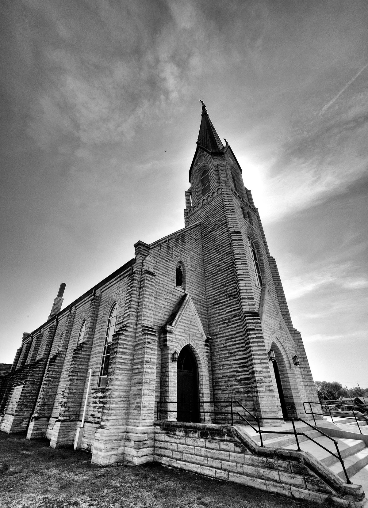 Kansas rush county liebenthal - St Joseph S Church In Liebenthal Kansas The Community Was Founded By Immigrants Of The