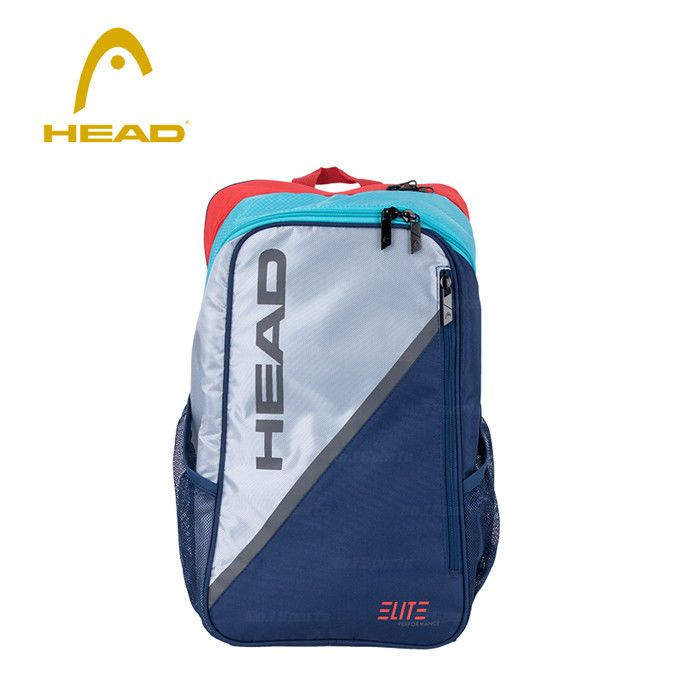 Head Elite Backpack 2017 New Bag Gray Patrol Tennis Badminton Sports Nwt 283397 Head Elite Backpack Badminton Sport Bags