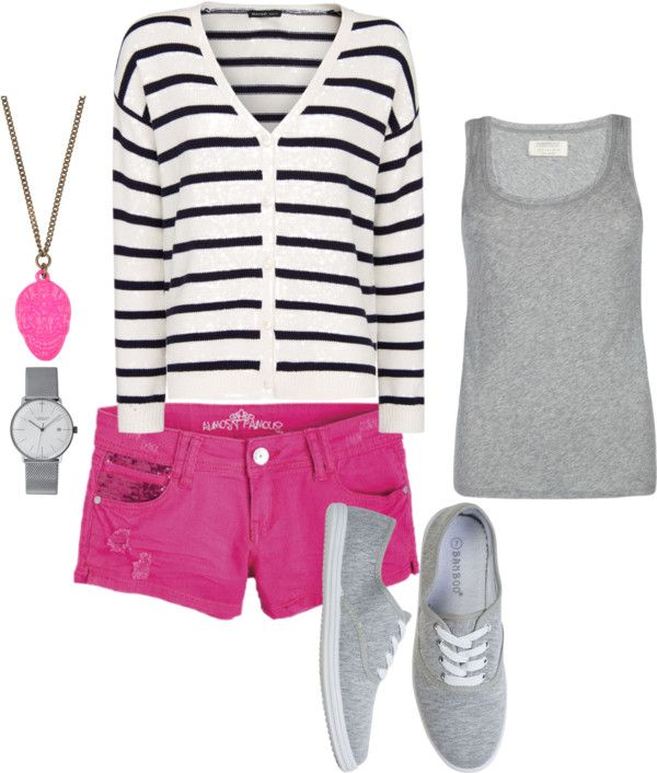 """""""Cute and Casual"""" by queenofthekeys on Polyvore"""