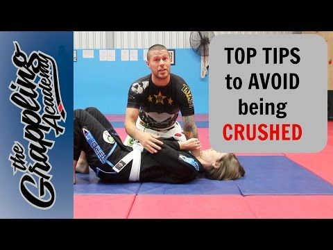 Some TOP TIPS to stop being CRUSHED in BJJ! - YouTube