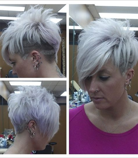 Modern Edgy Short Haircuts For Women