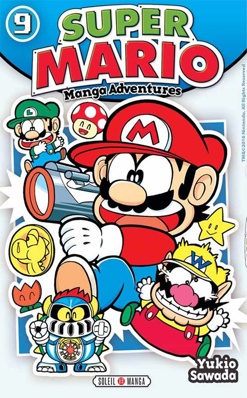 Vol 9 Super Mario - Manga adventures - Manga | Mario! Bros! | Super