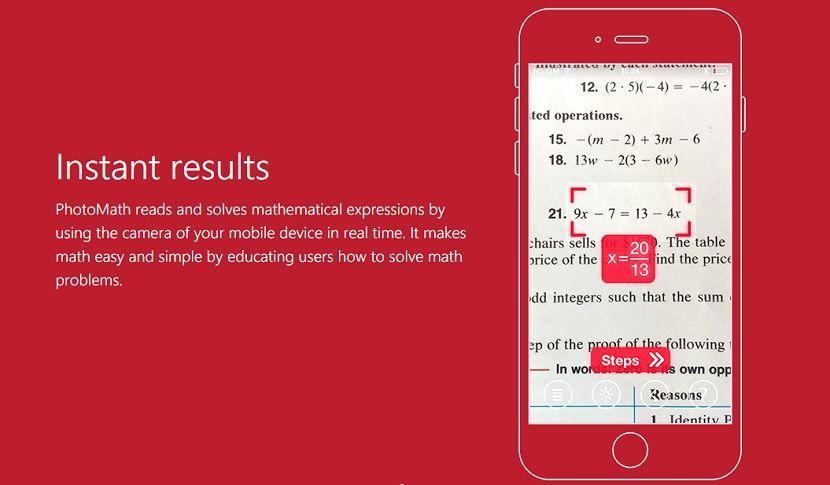 Resuelve ecuaciones con la cámara de tu iPhone Resolver