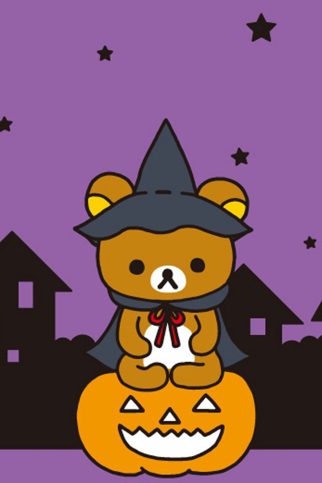 CUTE HALLOWEEN, IPHONE WALLPAPER BACKGROUND IPHONE