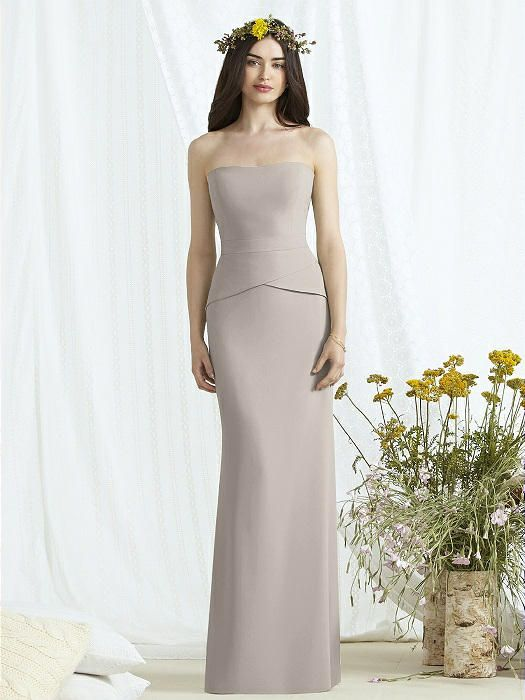 ba17ca14af45 Social Bridesmaids Style 8165 Sample: Taupe $$   Social Bridesmaids ...