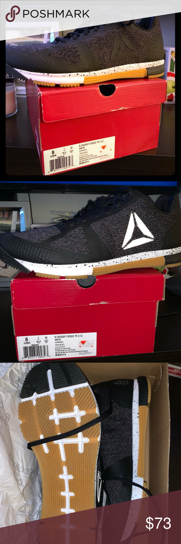 Reebok speed tr 2 CrossFit shoes