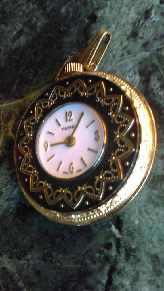 Hey, I found this really awesome Etsy listing at https://www.etsy.com/listing/260479389/ferex-vintage-ladies-pocket-watch-swiss