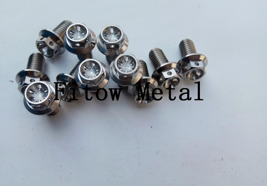 M9 x 1 x 30 Titanium Ti Screw Fine Thread Bolt Allen Hex Socket Cap Head Bicycle