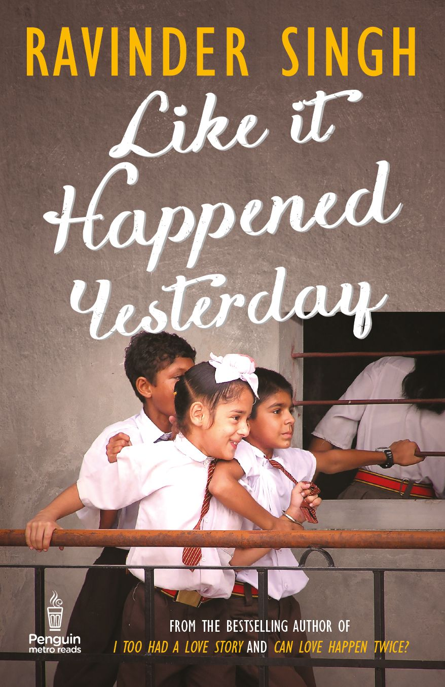 Cover For Ravinder Singh S Like It Happened Yesterday Cover