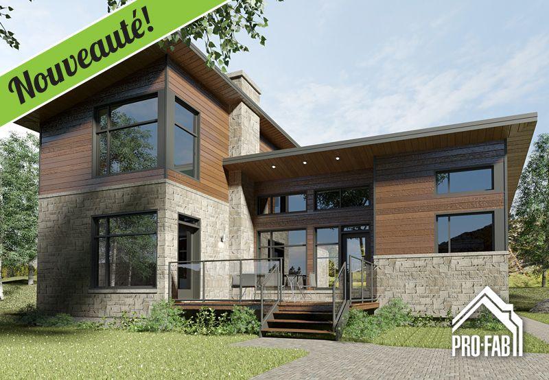 Pro fab constructeur de maisons modulaires usin es pr fabriqu es mod le amarello private - Constructeur maison modulaire ...