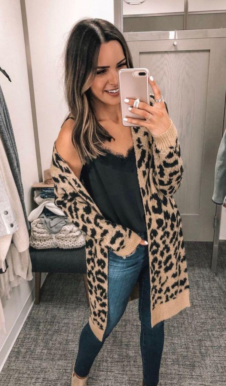 leopard cardigan 1