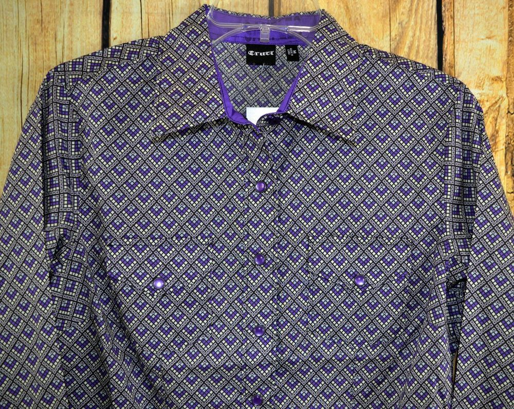 $24.99! CRUEL GIRL CTW9388002 RODEO Western Barrel ARENA FIT SHIRT COWGIRL NWT Medium #CruelGirl #Western