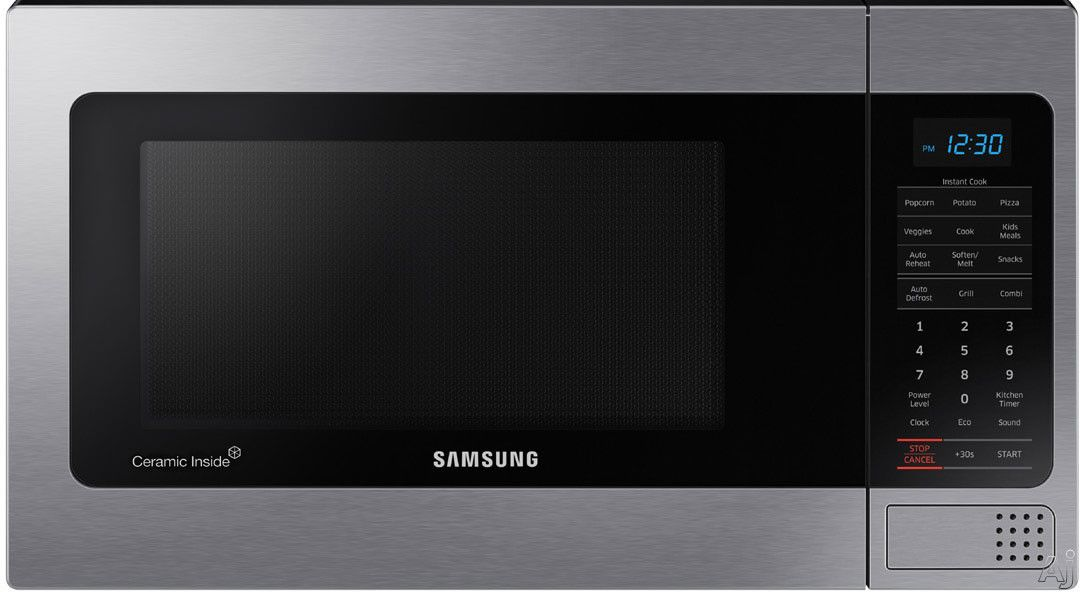 Samsung Mg11h2020ct 1 1 Cu Ft Countertop Microwave Oven With