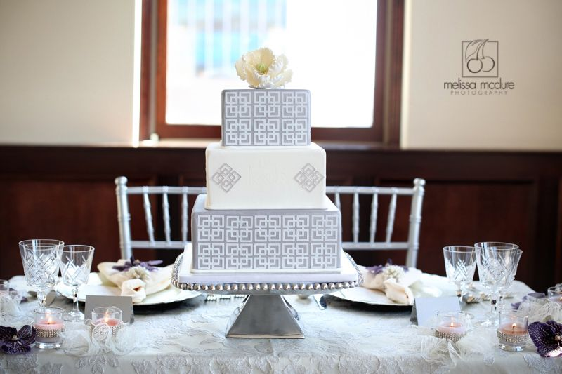 50 Shades of Grey - Wedding Cake - Wedding Details 2015