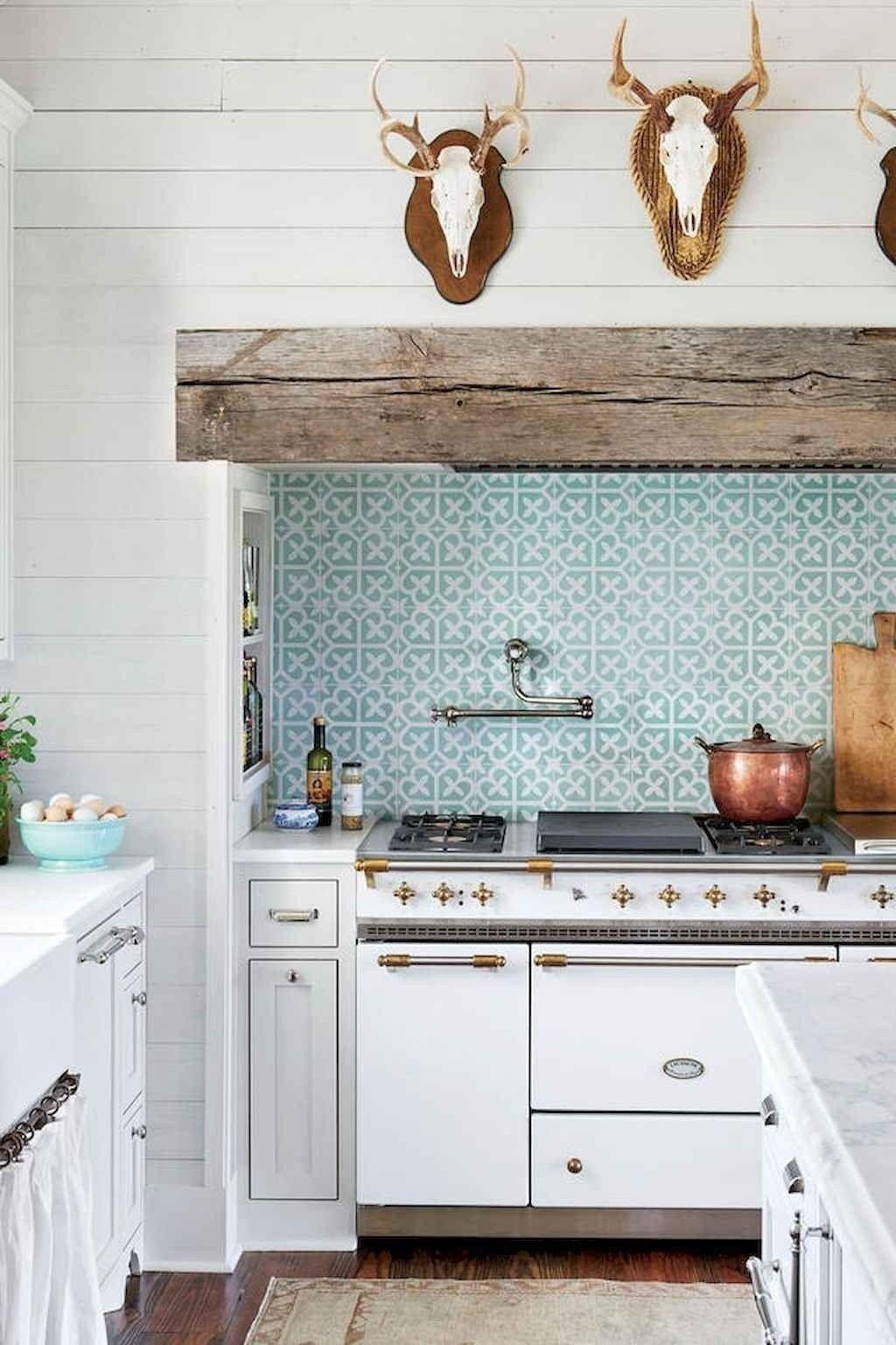 39 Inspiring Modern Farmhouse Kitchen Backsplash Ideas Farmhouse Style Kitchen Farmhouse Kitchen Backsplash Kitchen Remodel