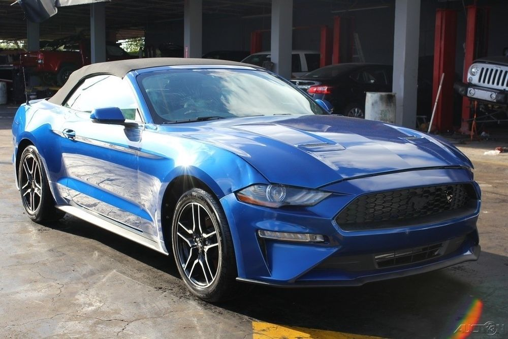 Ebay 2018 Ford Mustang Ecoboost Premium 2dr Convertible 2018