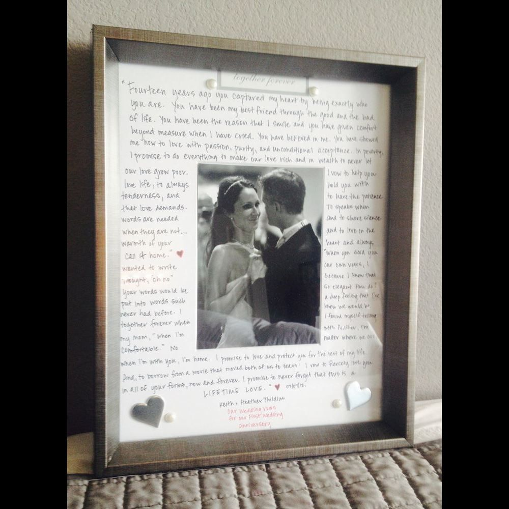 Ideas For First Wedding Anniversary Gift: First Year Wedding Anniversary Gift Ideas For Him