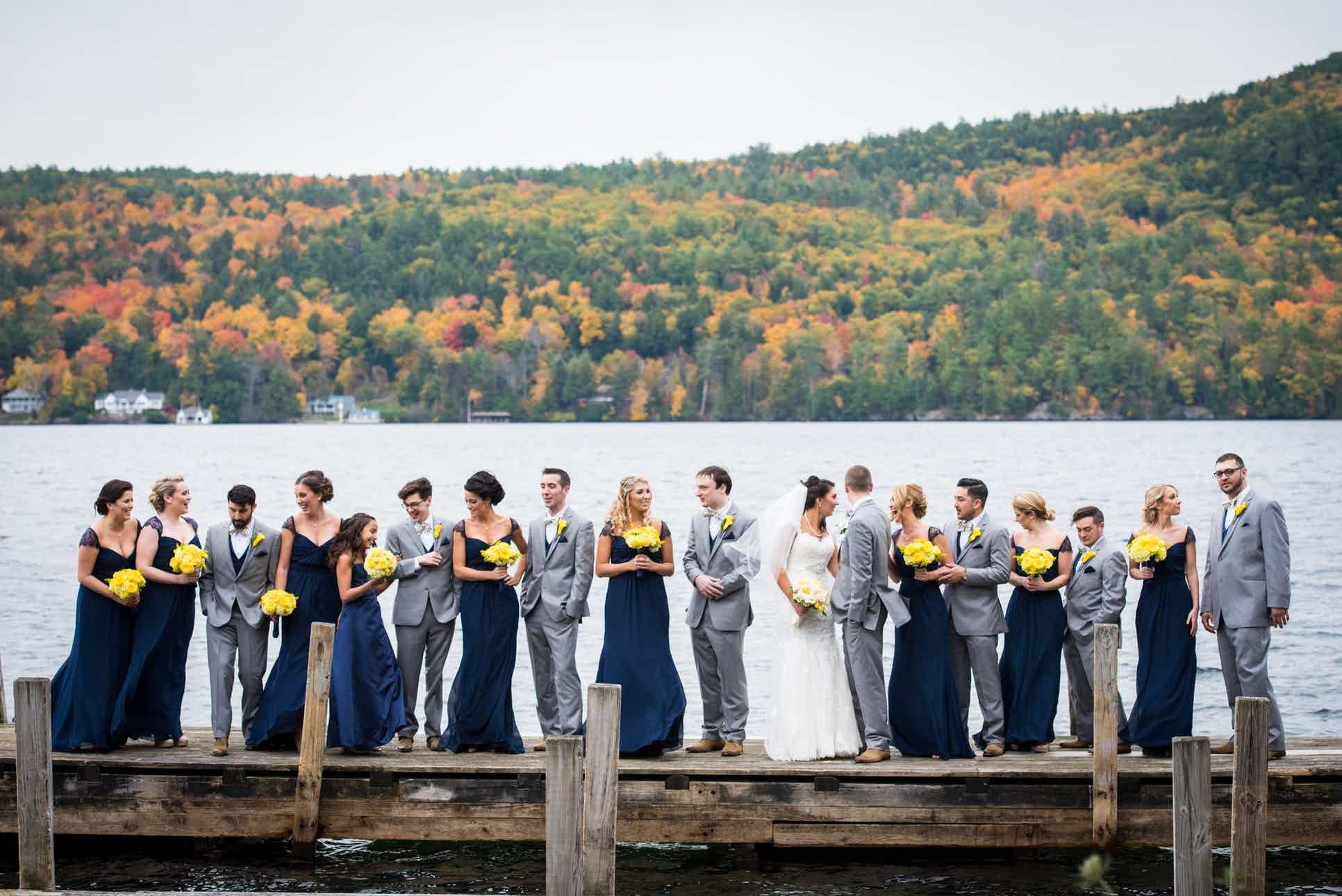 See The Inn at Erlowest, a beautiful Upstate NY wedding