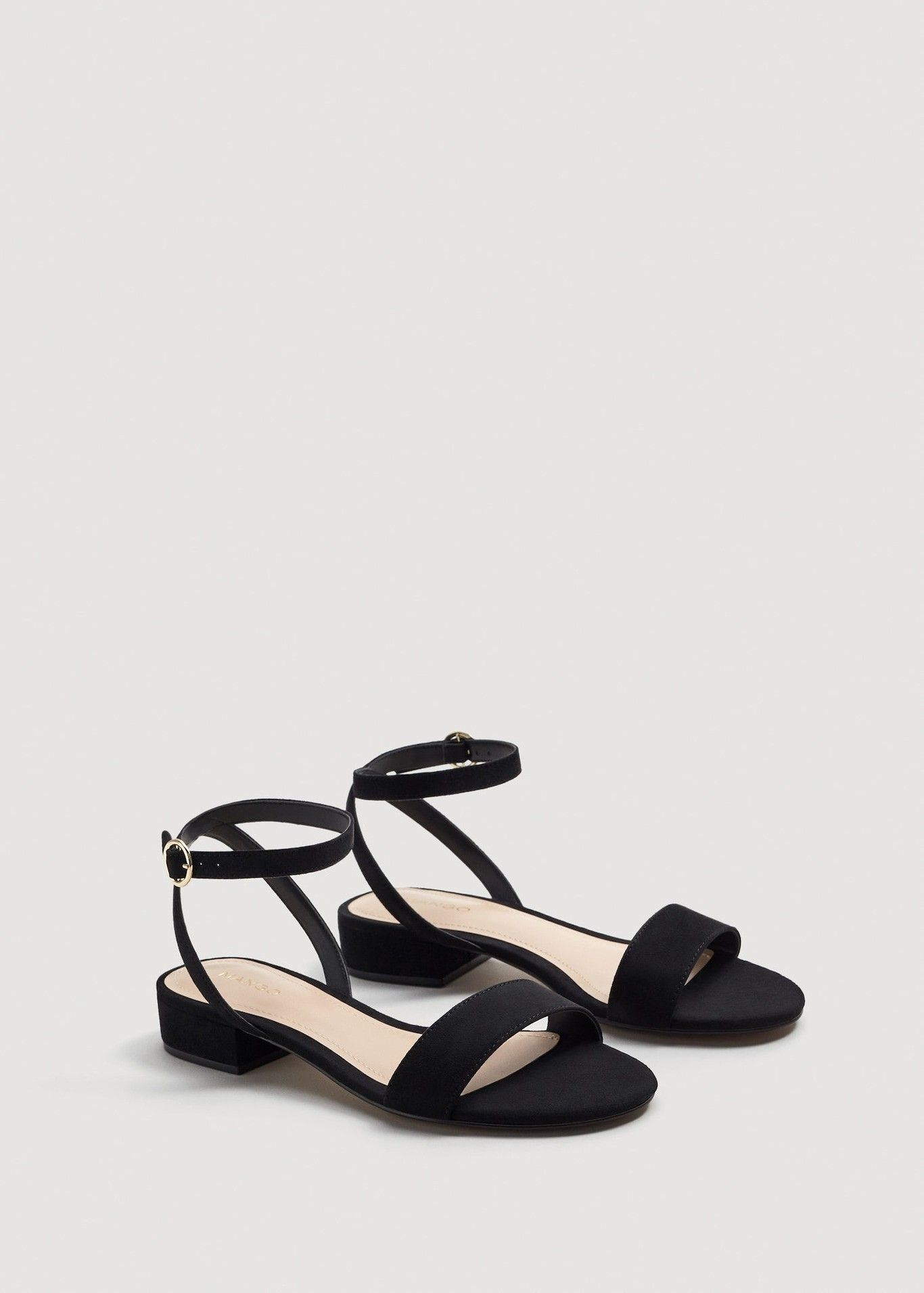 Mango OAK - Ankle cuff sandals - beige NnLdatr