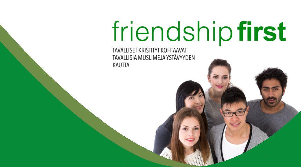 Friendship First on kurssi, joka valmentaa tavallisia kristittyjä kohtaamaan tavallisia muslimeja ystävyyden kautta, itsevarmuudella ja taidolla. Friendship First auttaa ja ohjaa kertomaan suurimma…