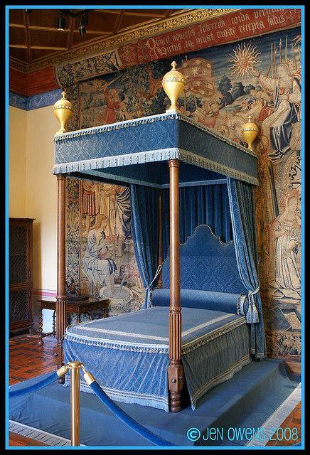 Diane de Poitiers\' Bedroom, Chateau Chenonceau