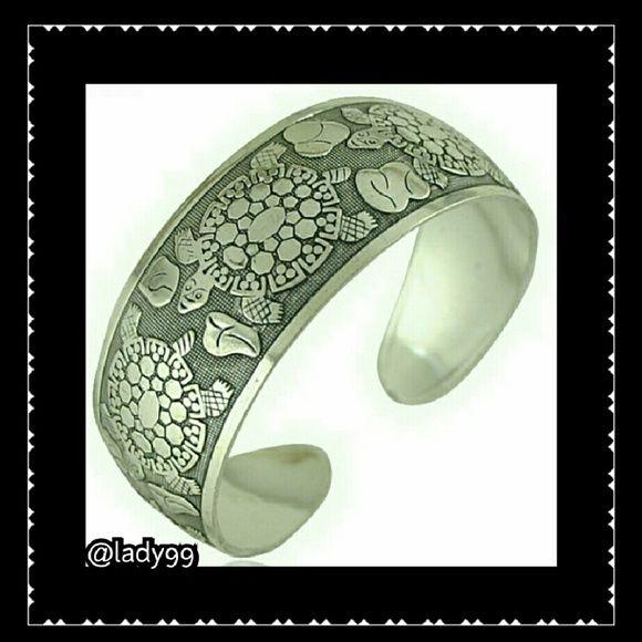 Turtle bangle cuff  bracelet Turtle Bangle / cuff / bracelet  Silverton Jewelry Bracelets