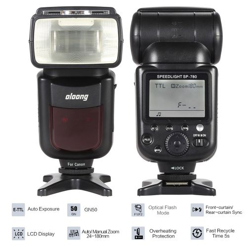 oloong sp 780 automatic manual zoom electronic wireless speedlite rh pinterest co uk Pictures Taken with Canon T2i Canon T2