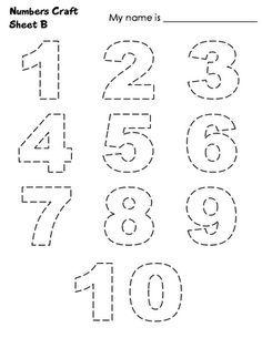 Numeros Para Imprimir Del 1 Al 50 Con Dibujos Alojamiento De