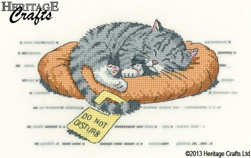 Counted Cross Stitch Kits We are not Sick Cats Chart Needlework Crafts DIY
