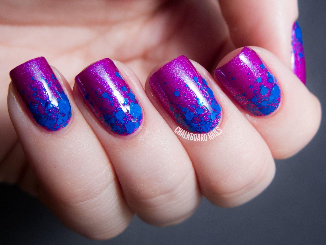 Chalkboard Nails | Nail Art Blog | Naglar att inspireras av | Pinterest