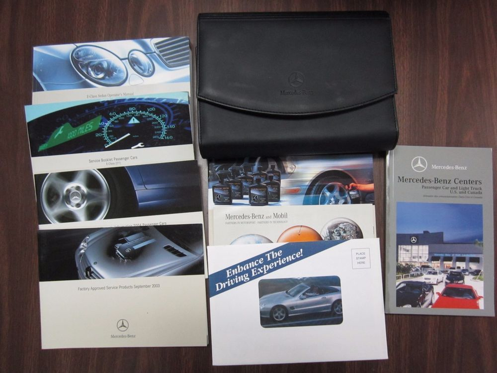 03 06 w211 mercedes e320 e500 e55 owners manual booklet case 03 06 w211 mercedes e320 e500 e55 owners manual booklet case instructions oem publicscrutiny Image collections