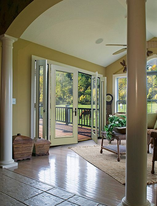 Vented Sidelite Patio Door Features An Innovation Worthy